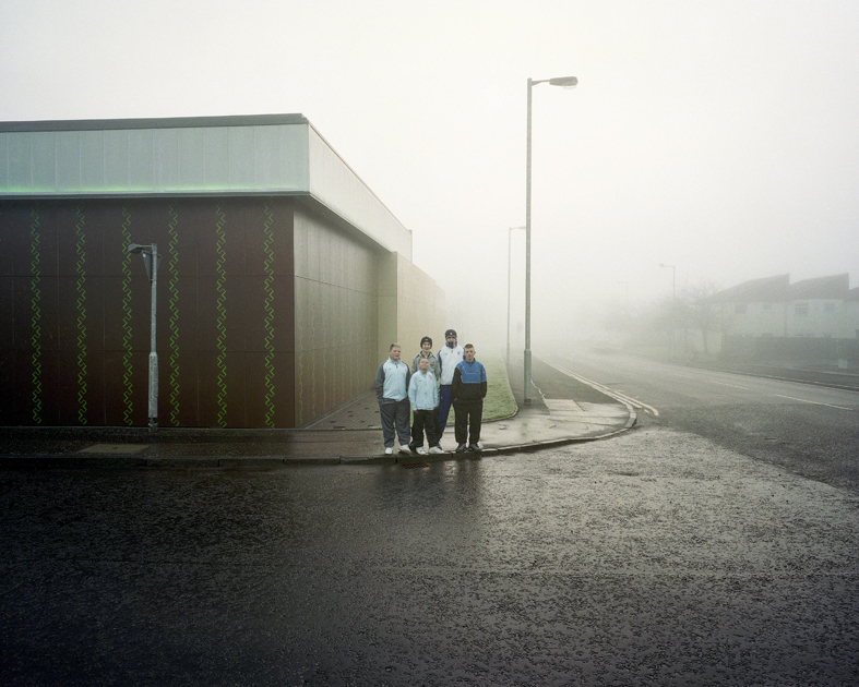 Blueprint photography awards a group of youths in clydebank glasgow outside some workshops that have been built as a project of urban rejuvenation on the site of the former singer malvernweather Image collections